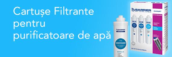 Cartuse filtrante pentru purificatoare de apa